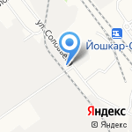 Шик & Блеск на карте Йошкар-Олы