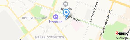 Хобо на карте Йошкар-Олы