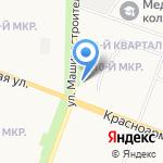 Детская школа искусств на карте Йошкар-Олы