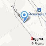 АЛКО-Сервис на Соловьева на карте Йошкар-Олы