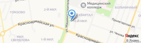 Авеню на карте Йошкар-Олы