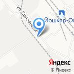 АЛКО-Маркет на карте Йошкар-Олы
