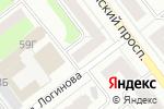 Схема проезда до компании Центр Крепежа в Йошкар-Оле