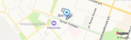Радиочастотный центр Приволжского Федерального округа на карте Йошкар-Олы