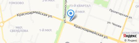 Чайхана Нон на карте Йошкар-Олы