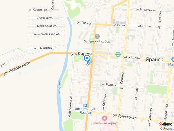 Отделение УФМС России по Кировской области в г. Яранске