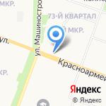 Мясокомбинат Звениговский на карте Йошкар-Олы