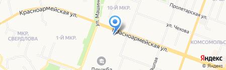 Центр автоматизации и информационной безопасности на карте Йошкар-Олы