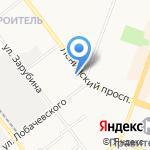 Служба заказа автобусов на карте Йошкар-Олы