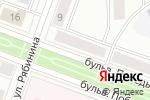 Схема проезда до компании Принтекс в Йошкар-Оле