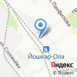 Спецсвязь Экспресс на карте Йошкар-Олы