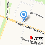 ЖЭУК-7 на карте Йошкар-Олы