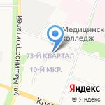 ПМК-3 на карте Йошкар-Олы