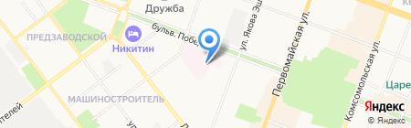Перинатальный центр на карте Йошкар-Олы