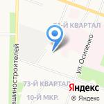 Республиканская офтальмологическая больница им. Г.И. Григорьева на карте Йошкар-Олы