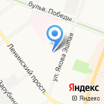 Гимназия №4 им. А.С. Пушкина на карте Йошкар-Олы