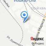 ТОРГХОЛОД на карте Йошкар-Олы