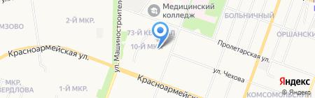 Средняя общеобразовательная школа №2 на карте Йошкар-Олы