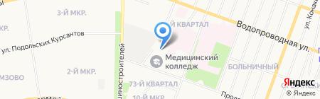 Центр здоровья на карте Йошкар-Олы