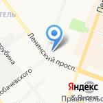 Адвокатский кабинет Абдулаева Ю.С. на карте Йошкар-Олы