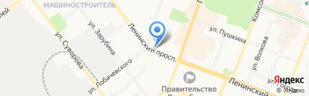 Альганика - Российская косметика для профессионального использования на карте Йошкар-Олы