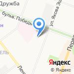 Московский комсомолец в Марий Эл на карте Йошкар-Олы