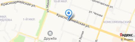 Мастерская по ремонту обуви и одежды на карте Йошкар-Олы