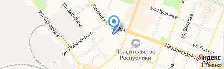 Детский сад №34 на карте Йошкар-Олы