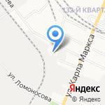 Автопричал на карте Йошкар-Олы