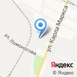 Автомастерская экспресс-замены масла на карте Йошкар-Олы