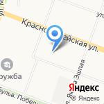 Банкомат на карте Йошкар-Олы