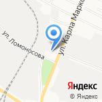 Веселый шиномонтажник на карте Йошкар-Олы