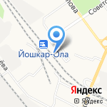 ТрансТ-Сервис на карте Йошкар-Олы