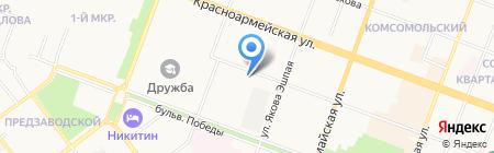 Приоритет на карте Йошкар-Олы