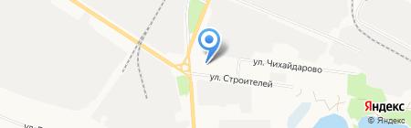 Марий-Эл-Лада на карте Йошкар-Олы