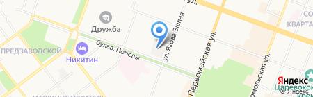 Лакомка на карте Йошкар-Олы
