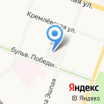 Йошкар-Олинская кондитерская фабрика на карте Йошкар-Олы