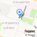 Республиканская консультативная поликлиника на карте Йошкар-Олы