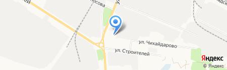 Контакт на карте Йошкар-Олы