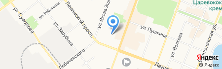 Детский сад №38 Рябинушка на карте Йошкар-Олы