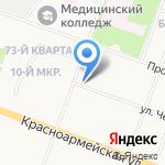 ДЕРЖАВА-12 на карте Йошкар-Олы