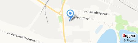 Алмаз на карте Йошкар-Олы