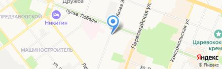 Коллегия адвокатов Республики Марий Эл на карте Йошкар-Олы
