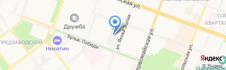 Арболит на карте Йошкар-Олы