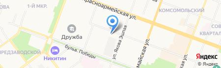 Русский Фейерверк на карте Йошкар-Олы