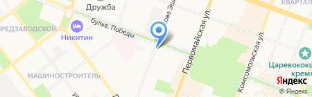 Дубай на карте Йошкар-Олы