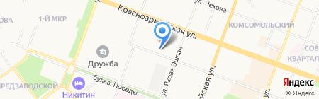 Магнит на карте Йошкар-Олы