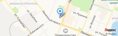 Лик на карте Йошкар-Олы