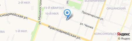 Управление Федеральной службы государственной регистрации на карте Йошкар-Олы