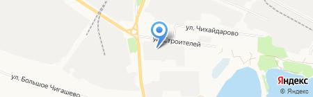 Станция технического осмотра автотранспорта г. Йошкар-Олы на карте Йошкар-Олы